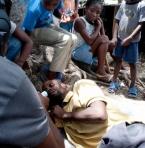 Campo-profughi ad Haiti (foto concessa dagli autori di Solidar'IT in Haiti)