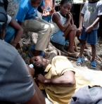Refugee camp in Haiti (photo by SolidarIT in Haiti, under CC