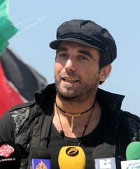 Vittorio Arrigoni in Gaza,  from his Facebook profile.