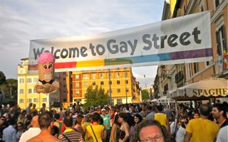 Rome Gay Pride Party 2011. Foto dell'autore