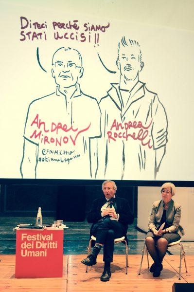 Rocchelli & Mironov + Genitori di Andrea