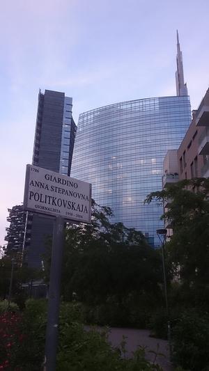 Giardino Anna Politkovskaja